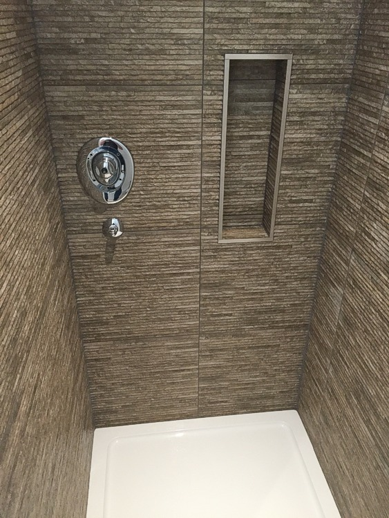 Bathroom / Shower room tiling